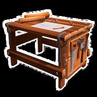 Wood Furniture Workbench