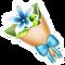Blue Star Bouquet