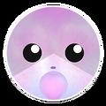 Pink Blue Chipmunk