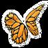 Butterfly Monarch Wings