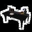 Modern Black Workbench