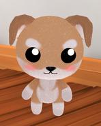 Sparkly Skin Dog