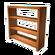 Light Wood Bookcase