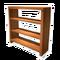 Bookshelf Lightwood