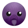 Purple Blend Bear