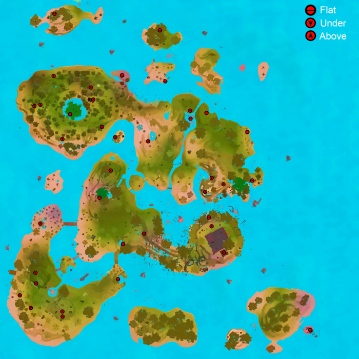 Chest Map Main Island