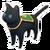 Black Caped Cat