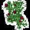 Red Rose Trellis