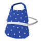 Blue White Dots Apron