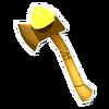Golden Poop Axe