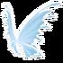 Pastel Blue Fairy Wings