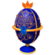 Blue Faberge Egg Chest