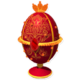 Red Faberge Egg Chest