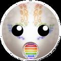 White Rainbow Dragon