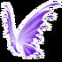 Pastel Purple Fairy Wings