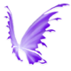 Pastel Purple Fairy Wings