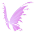 Pastel Pink Fairy Wings
