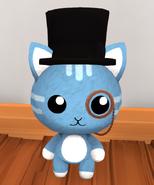 Top Hat Monocle worn