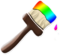 Rainbow Paintbrush