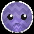 Purple Zigzag Bunny