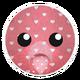 Pink Hearts Bear