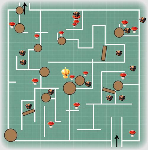 Halloween Maze Blueprint