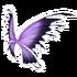 Purple Black Fairy Wings
