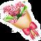 Red Hydrangea Bouquet