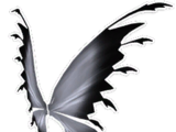 Black White Fairy Wings