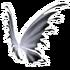 White Black Fairy Wings