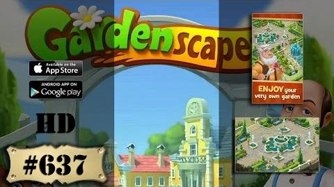 Gardenscapes 2 level 637 All Combo Not Boosters Not Cheats Engine