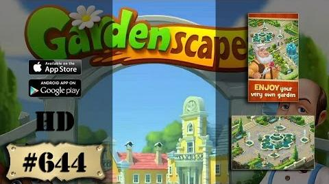 Gardenscapes 2 level 644 All Combo Not Boosters Not Cheats Engine
