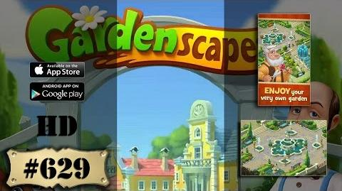 Gardenscapes 2 level 629 All Combo Not Boosters Not Cheats Engine