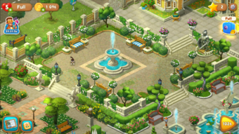 how to beat level 75 on gardenscapes