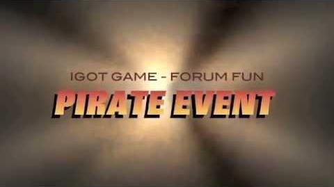 IGoT Game's fun forum Pirate Event starts Sept 7 2014