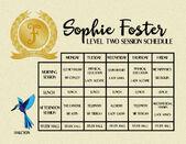 Sophie-School-Schedule-Level-Two