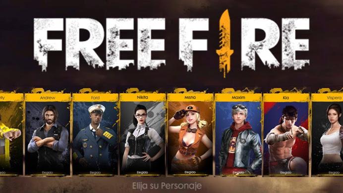 Imagen De Personages De Free Fire