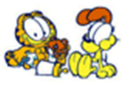 Garfield and odie baby