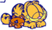 Garfield baby sleep