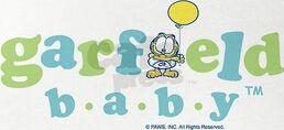 Garfield baby logo