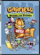 Garfield and Friends- Behind the Scenes DVD cover