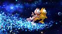 Garfield and Arlene dancing in space 2009