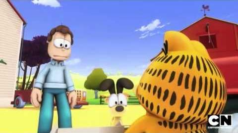 Doc Boy and Gloria The Garfield Show Cartoon Network