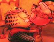 Garfield and Arlene - finally reunited 2008