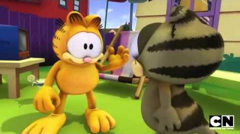 Flea Problem The Garfield Show Cartoon Network
