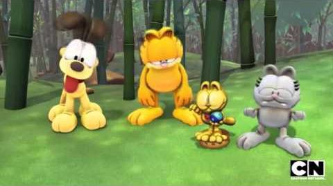 Master of the Mountain The Garfield Show Cartoon Network