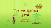 The Non-Garfield Show Title Card
