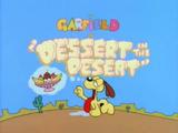 Dessert in the Desert