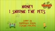 Honey I Shrunk The Pets Title Card