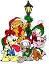 Garfield and Co Caroling